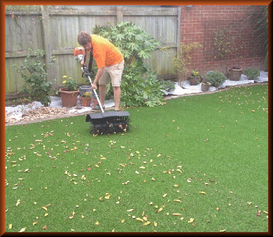 Maintenance of Artificial Lawn